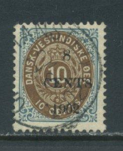 Danish West Indies 25 Used