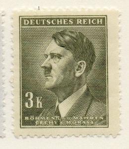 Germany Czechoslovakia 1942 Early Issue Fine Mint Hinged 3k. 116613