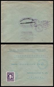 Goldpath: Guatemala cover, 1942, To Leipzig Germany , CV23_P13