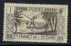 French Polynesia 80 MOG 362G-1