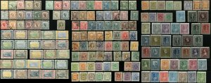 Early MONTENEGRO Postage Stamp Collection Used Mint LH