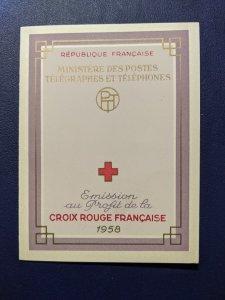 France B327A complete booklet, CV $20