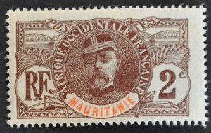 DYNAMITE Stamps: Mauritania Scott #2 – MINT hr
