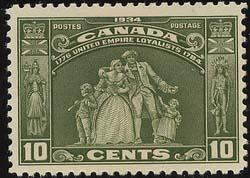Canada - 1934 10c Loyalist mint #209
