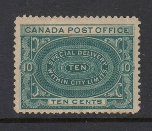 Canada #E1 Special Delivery (Mint Hinged) cv$125.00
