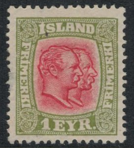 Iceland #99*  CV $9.50