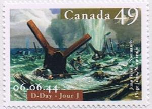 Canada Mint VF-NH #2043 D-Day