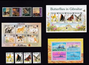 Gibraltar 1997,  MNH Year Set