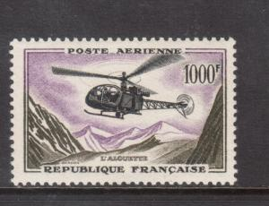 France #C36 Very Fine Never Hinged