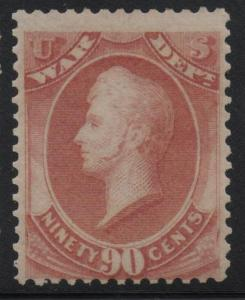 ~ US Scott #O93 War Dept Stamp Mint NH OG Beauty ~