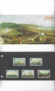 Jersey Artists VI Ouless 1985, MNH, Presentation Pack