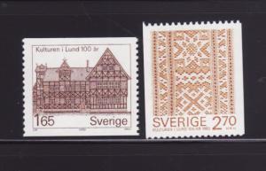 Sweden 1408-1409 Set MNH Various (B)
