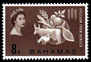 BAHAMAS - 1963 - QE II - FREEDOM FROM HUNGER - MINT - MNH SINGLE!