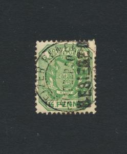 SCHWEIZER RENEKE TRANSVAAL 1900, ½d GREEN+BLK OVPT+ CERT VF MLH SG#1 (SEE BELOW)