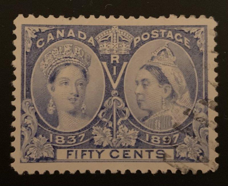 Canada #60 VF USED Jubilee C$250.00