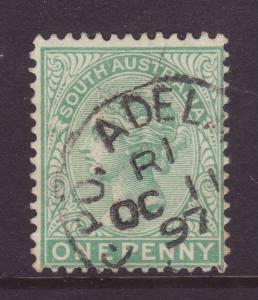 1895 South Australia 1d Pale-Green Fine Used SG175