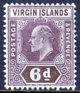 Virgin Islands - Scott #34 - MH - SCV $3.50