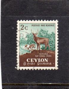 Ceylon National Park used