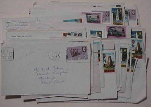 BARBADOS   66 SMALL COVERS 1970's INCLUDE REGISTERED