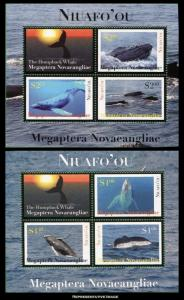 Tonga Niuafoou Scott 269-270 Mint never hinged.