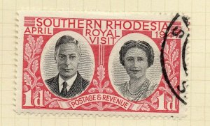 Southern Rhodesia 1947 Early Issue Fine Used 1d. NW-14413