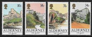Alderney # 28-31 - Fortress - set - MNH.....{BRN1}