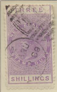 New Zealand Stamp Scott #AR3, Used - Free U.S. Shipping, Free Worldwide Shipp...
