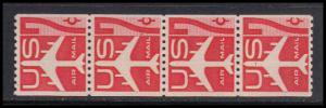 C61 Very Fine MNH Strip of 4 KA9094