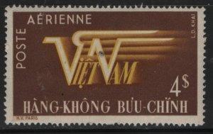 VIETNAM, C2, HINGED, 1952-53 Air post stamps unwmk.