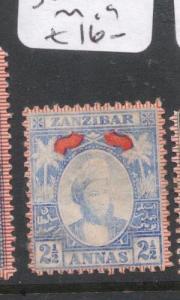 Zanzibar SG 161 MOG (2djs)