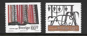 SWEDEN 2275-2276 MNH HANDICRAFTS SET 1998
