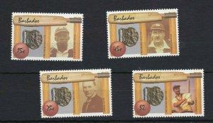 BC168) Barbados 1988 Cricket Diamond Jubilee MUH
