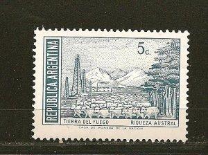 Argentina 925 Tierra del Fuego MNH