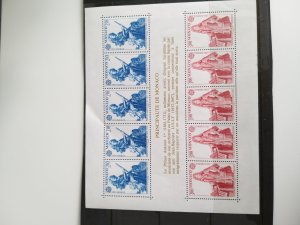 Monaco 1985 mini sheet Europa, cataloque €  60