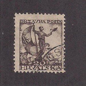 YUGOSLAVIA  SC# 2L36a  FVF/U  1919