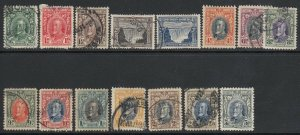 Southern Rhodesia, Sc 16-30 (SG 15-27), used