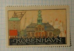 Denmark Tourist Copenhagen WW Tourism Poster Stamp