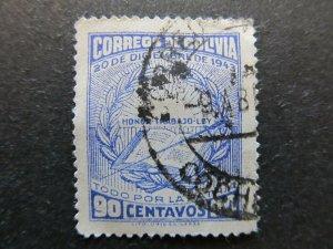A4P31F91 Bolivia 1944 90c used
