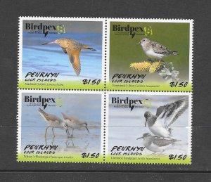 BIRDS - PENRHYN #583  BIRDPEX  MNH