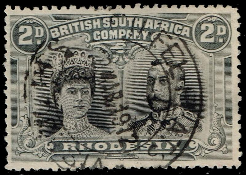 Rhodesia #103 Queen Mary and King George V; Used (12.50)