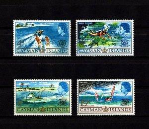 CAYMAN IS - 1987 - QE II - TOURIST YEAR - WATER SKI ++ MINT - MNH - SET!