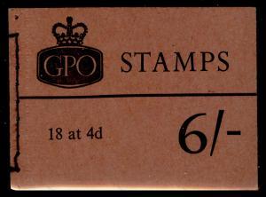 SG QP32, BOOKLET, NH MINT. Cat £70. JAN 1968.