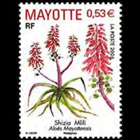 MAYOTTE 2006 - Scott# 226 Aloes Set of 1 NH