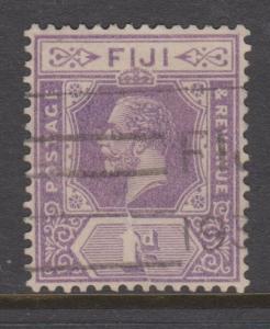 Fiji 1922 1d Violet Sc#96 Spacefiller