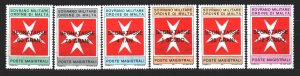 Order of Malta. 1975. 42675. Coat of arms of the Order of Malta. MNH.