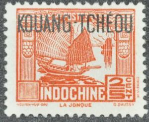 DYNAMITE Stamps: French Kwangchowan Scott #137 - UNUSED