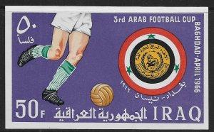 IRAQ, 406, MNH, S.S FOOTBALL CUP 1966