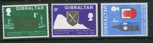 Gibraltar #219-21 Mint