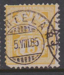 Switzerland Sc#75 Used