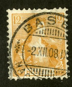 SWITZERLAND 130 USED SCV $6.25 BIN $2.50 HELVETIA